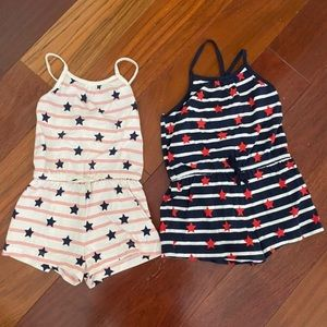 Gap rompers size 4T